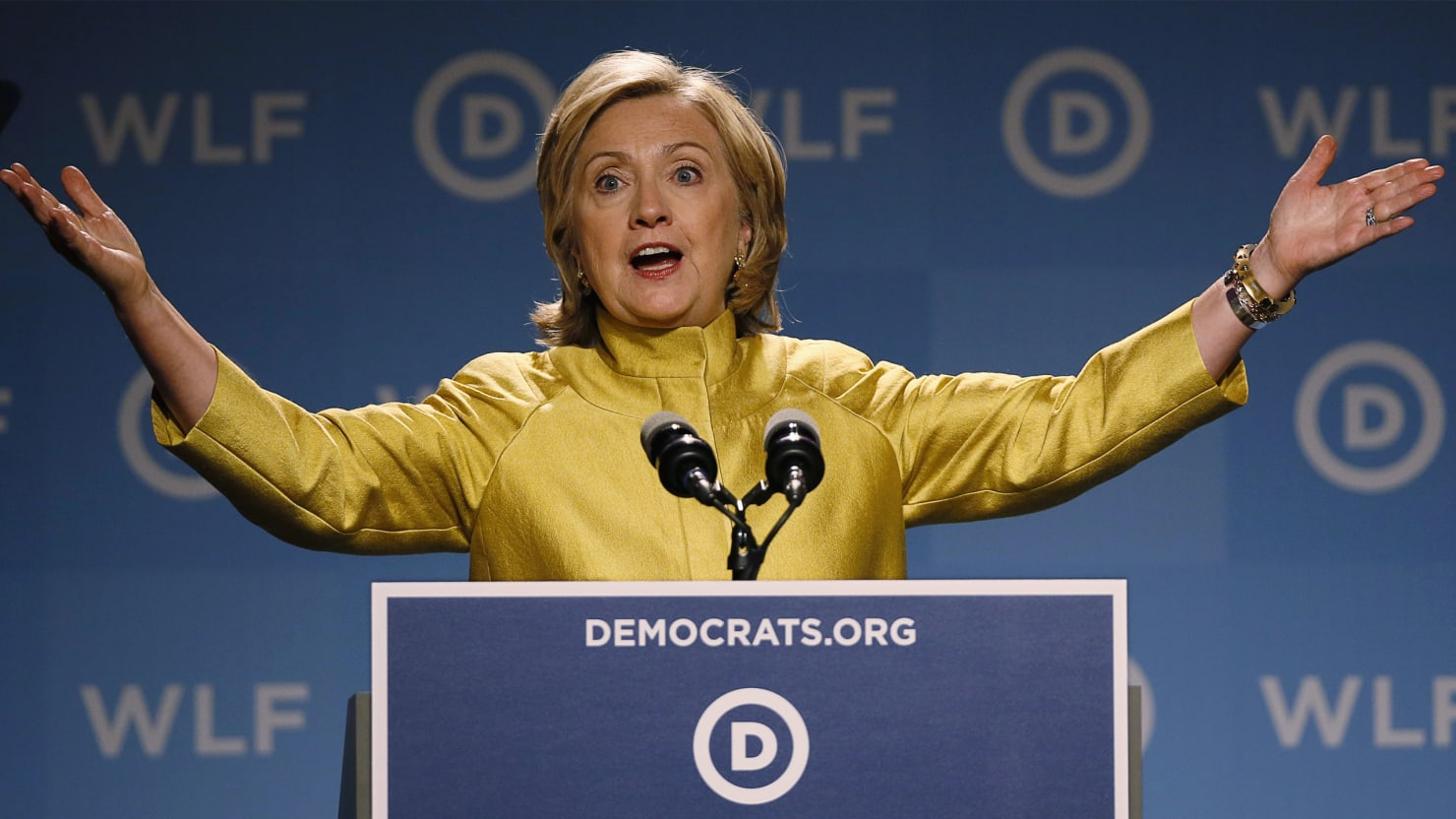 Hillary's Ready for the 'War on Women'