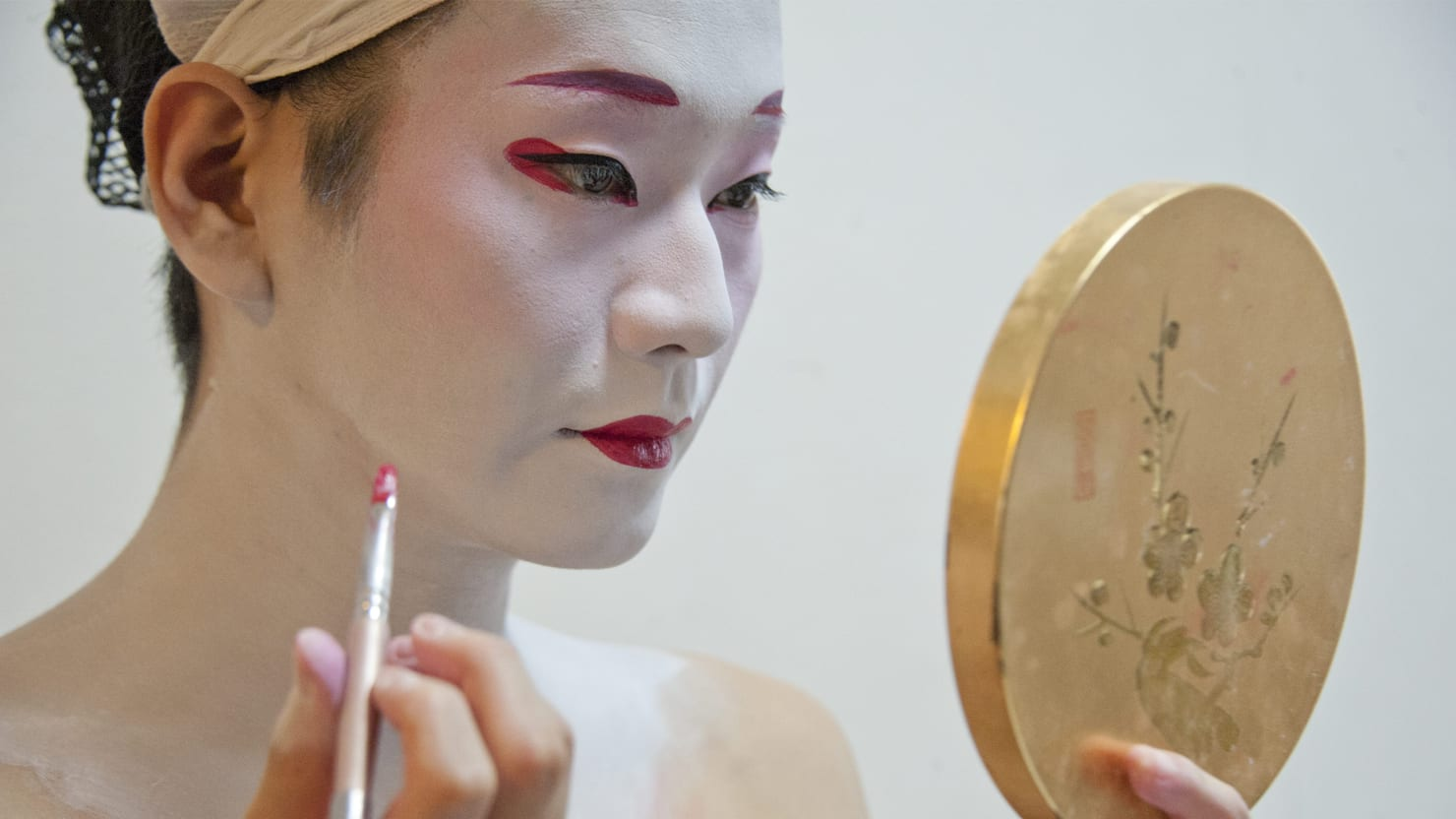 Feminine japanese men makeup