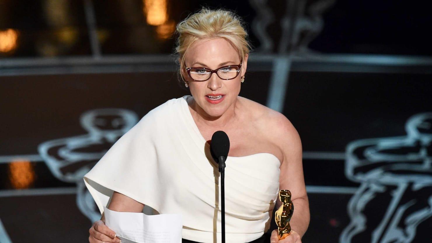 Patricia Arquette's Badass Oscar Acceptance Speech Demanding Equality for Women