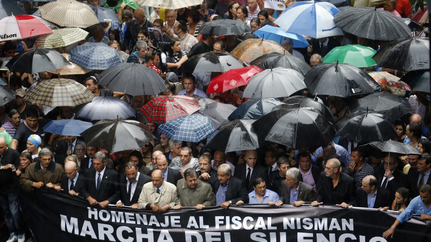 A Huge March in Argentina Demands Justice for the Nisman Killing
