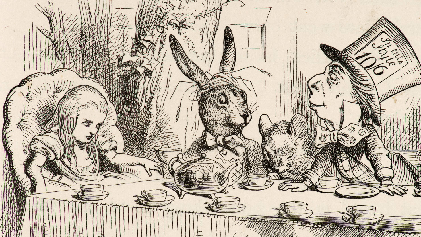 How Lewis Carroll Invented Surrealism
