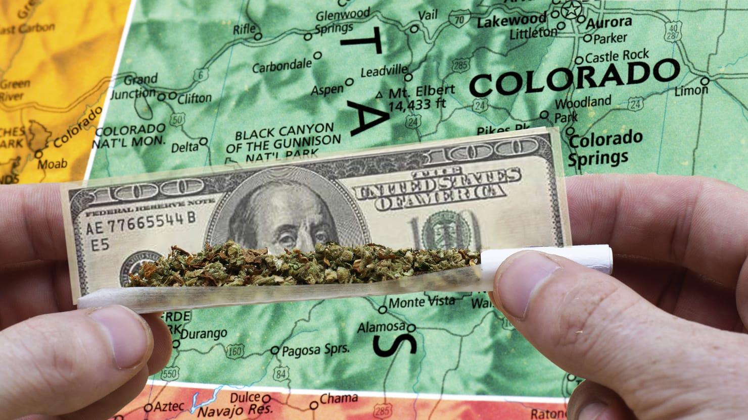 Colorado's Pot Revenue Goes Up in Smoke