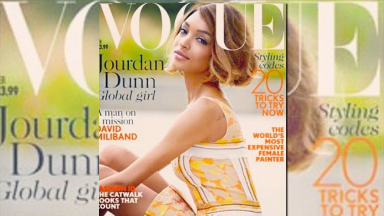 One Vogue Cover Doesn't Solve Fashion's Big Race Problem