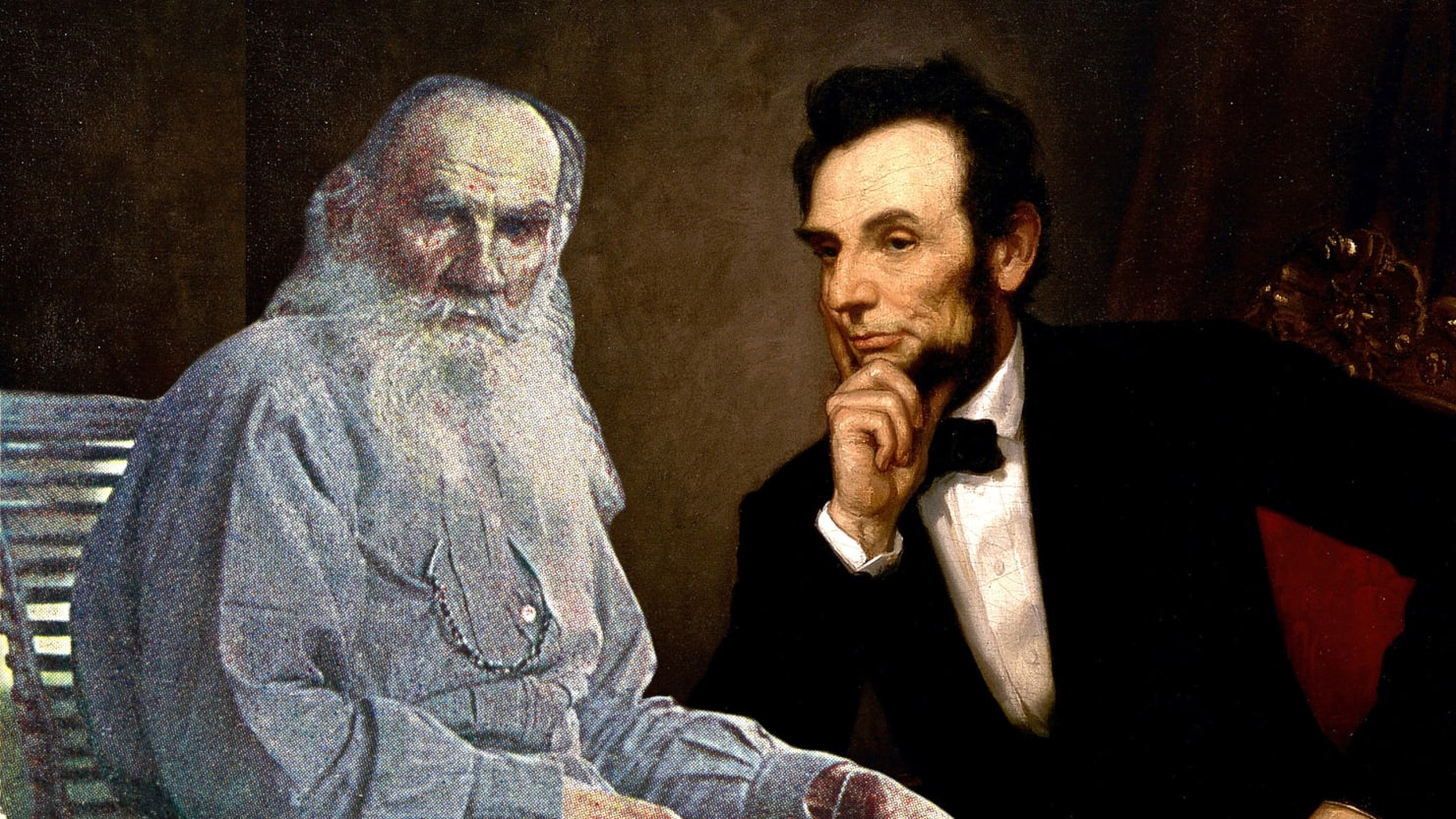 leo tolstoy s love letter to lincoln
