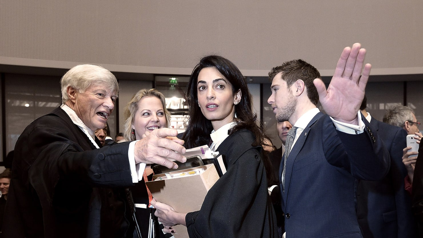 Mrs. Clooney Takes On the Armenian Genocide Deniers