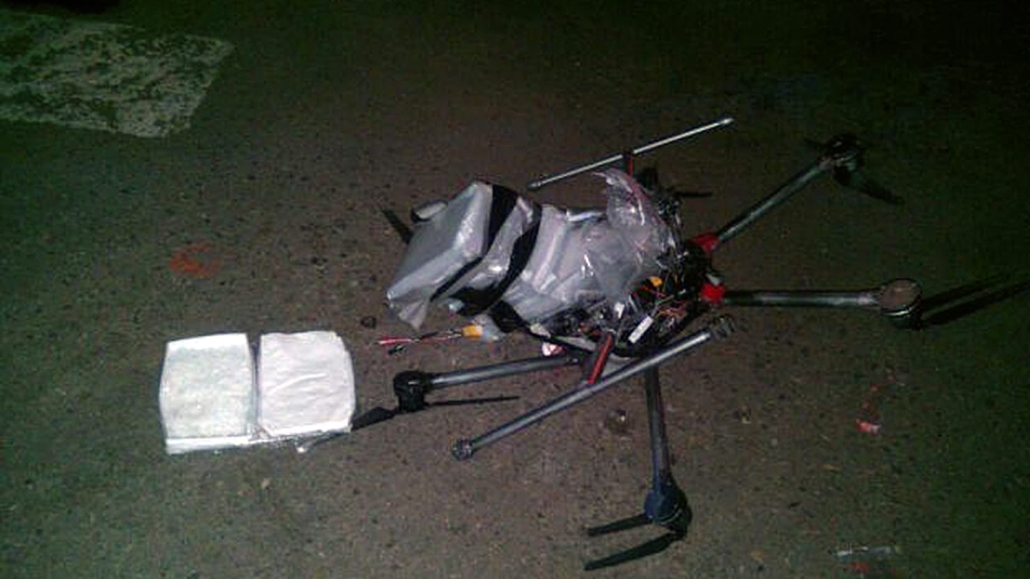 A Crashed Drone Carrying Six Pounds Of Meth Has People Buzzing But The DEA Much Bigger Worries
