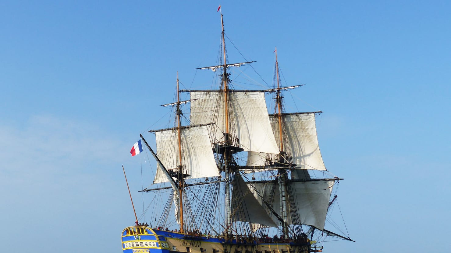 L'Hermione, The Ship That Saved America, Is Now Saving A Historic French Town
