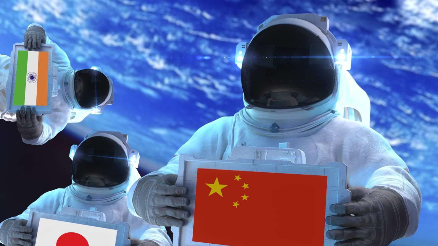 It's On: Asia's New Space Race