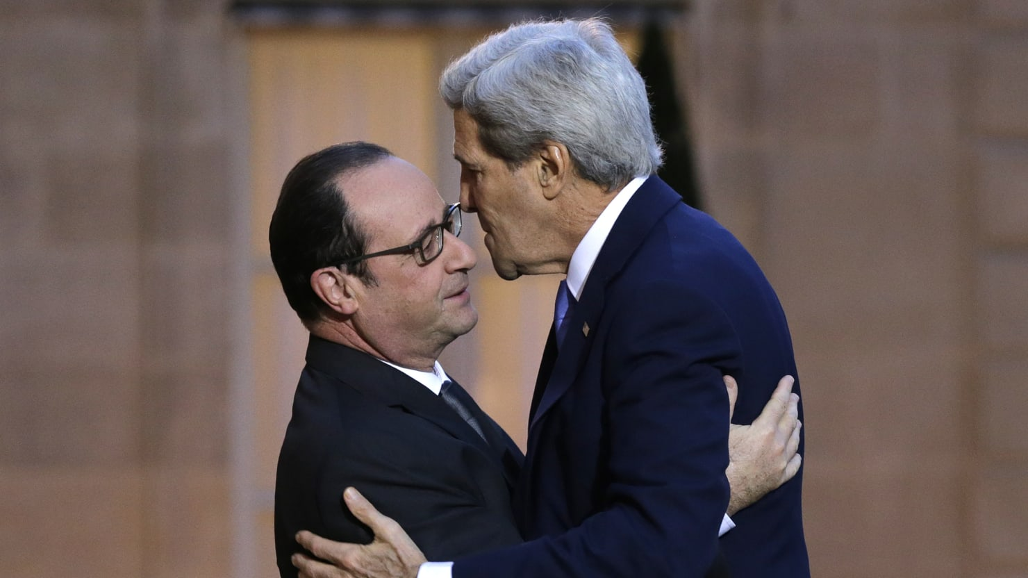 Just Kiss Already John Kerry And Franois Hollandes Intimacy Issues