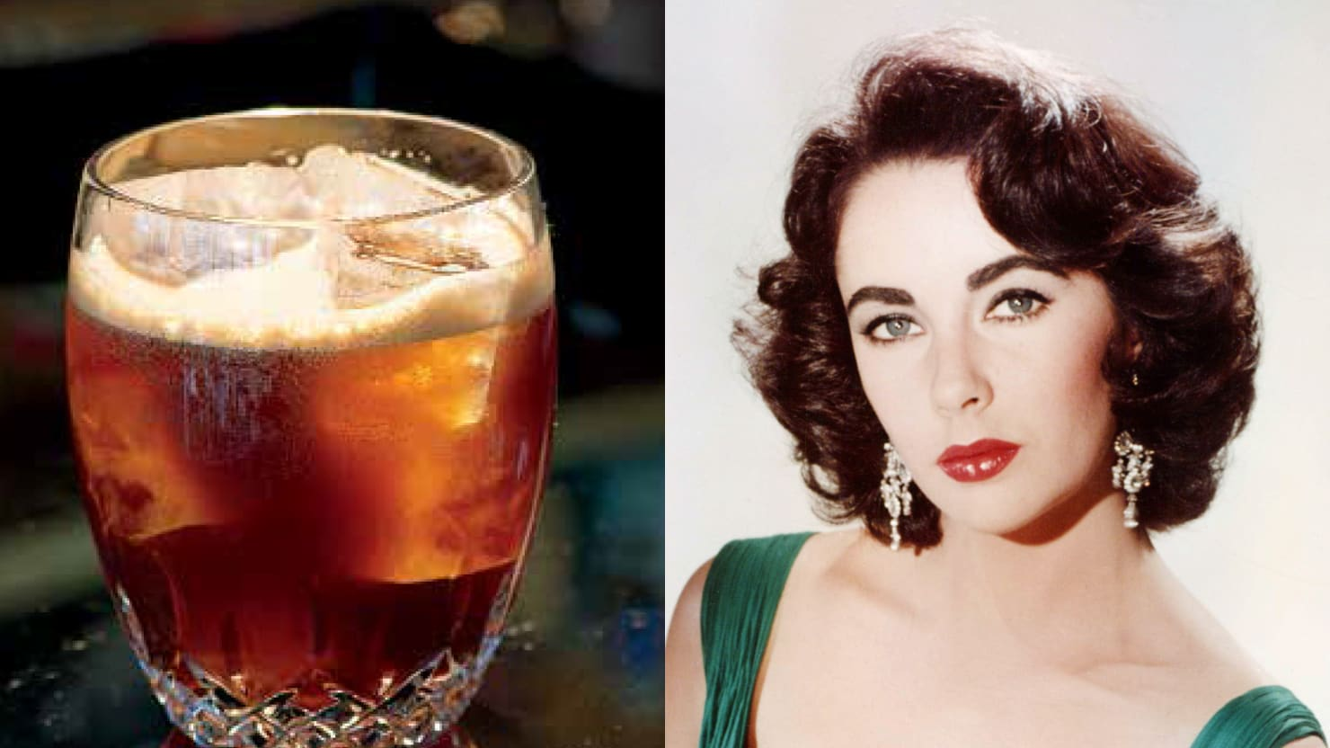 Drink Like Liz Taylor: 8 Cocktails Inspired by Celebrities