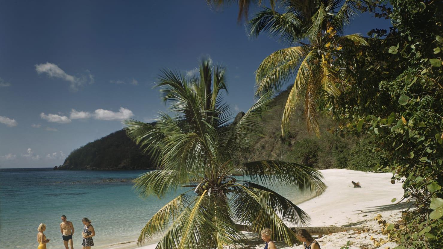 You Wish You Were Here: Classic Caribbean Glamor Shots