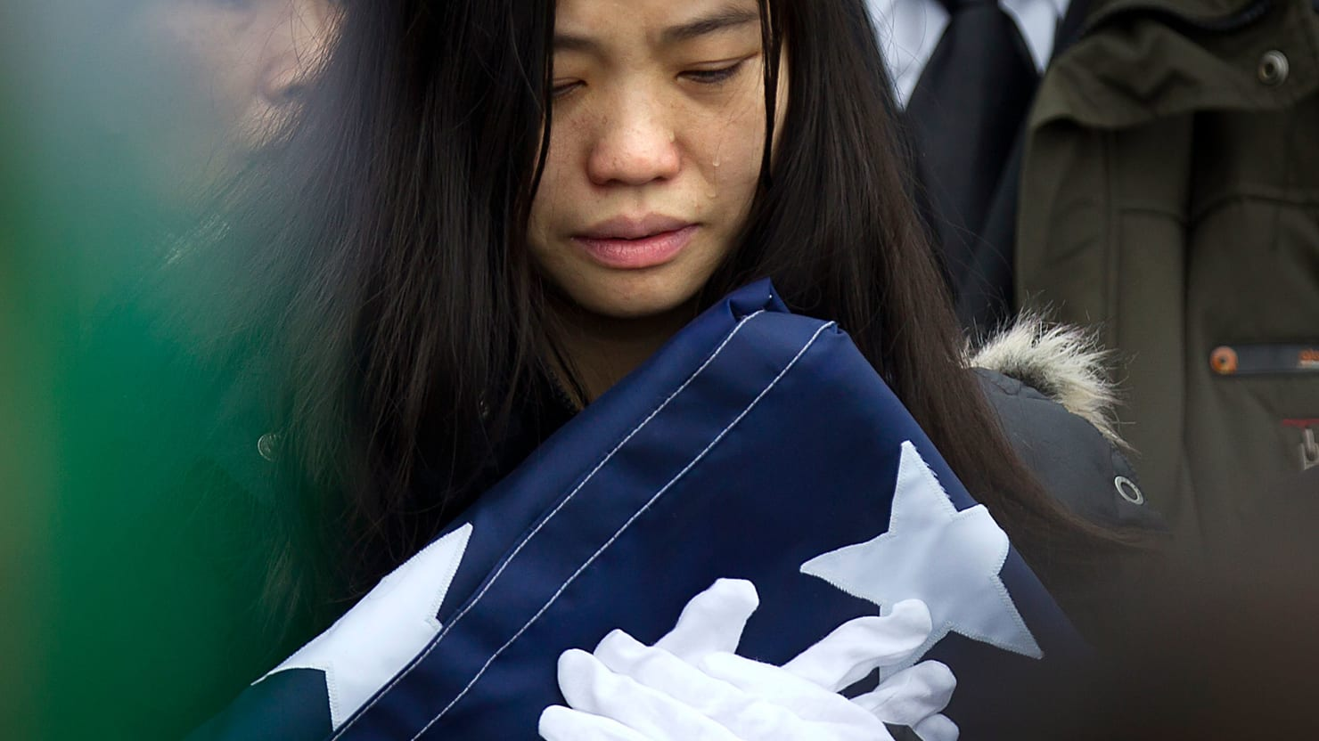 NYPD Salutes Murdered Officer Wenjian Liu (Photos)
