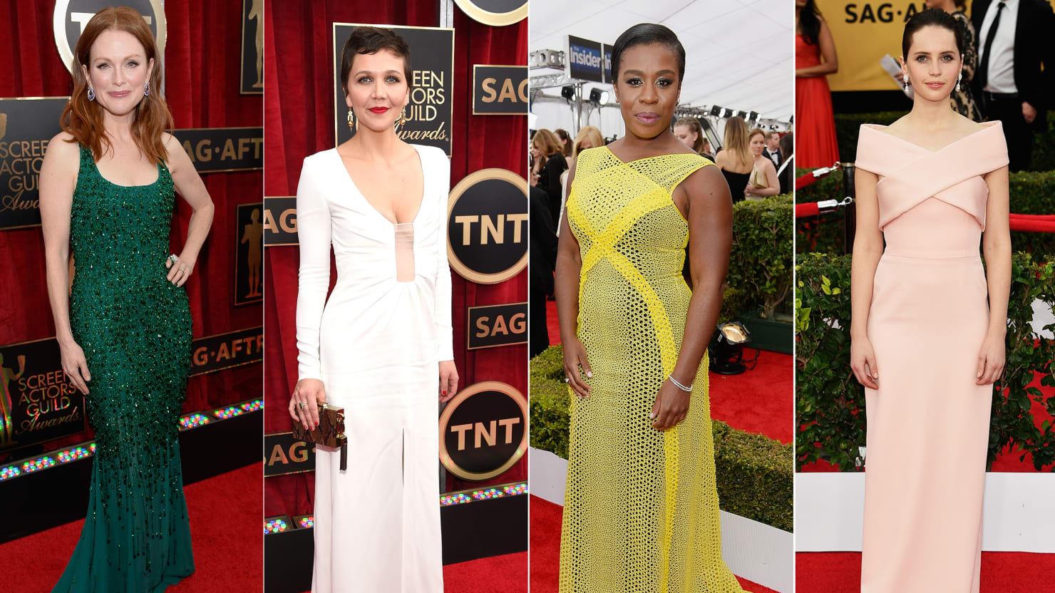 SAG Red Carpet Winners and Losers