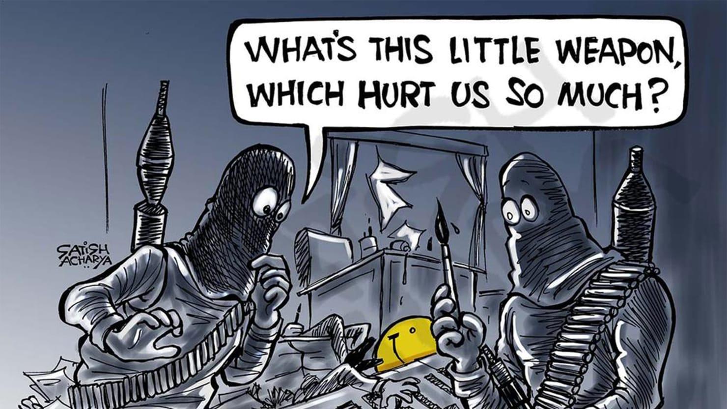 World Cartoonists: Je Suis Charlie (Photos)
