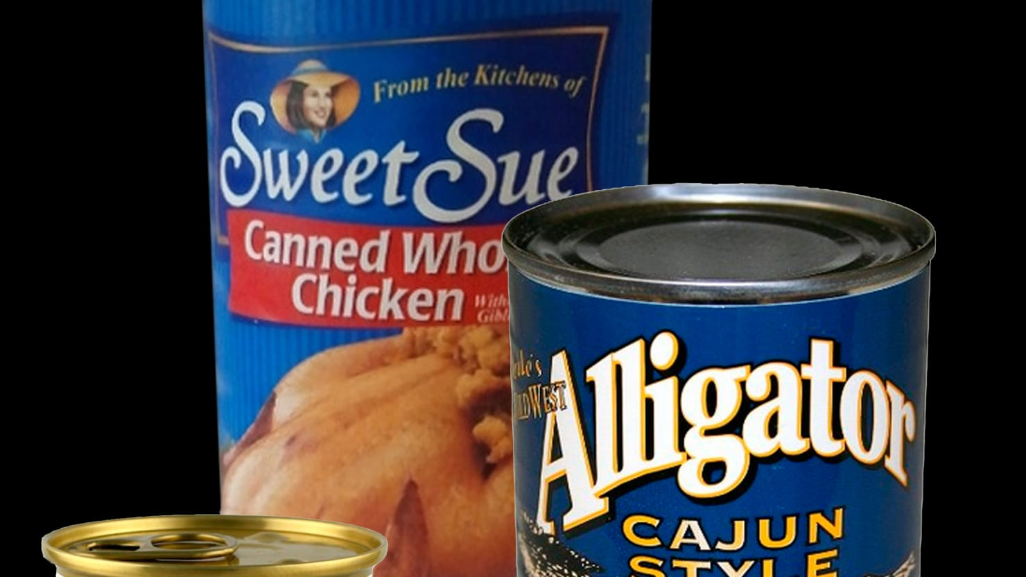 Camel in a Can and 6 More Weird Canned Meats