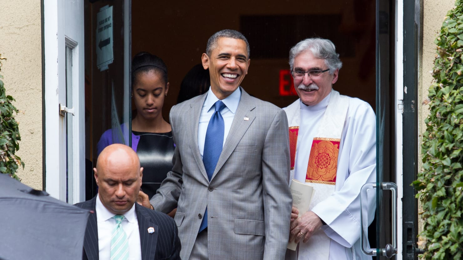 keeping tabs on obama u2019s church attendance is no way to