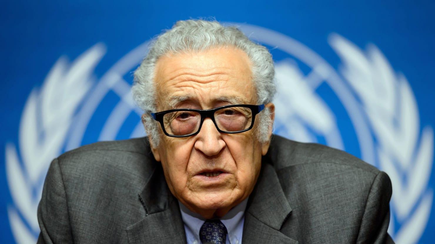 UN's Brahimi: Round One of Syria Peace Talks Failed