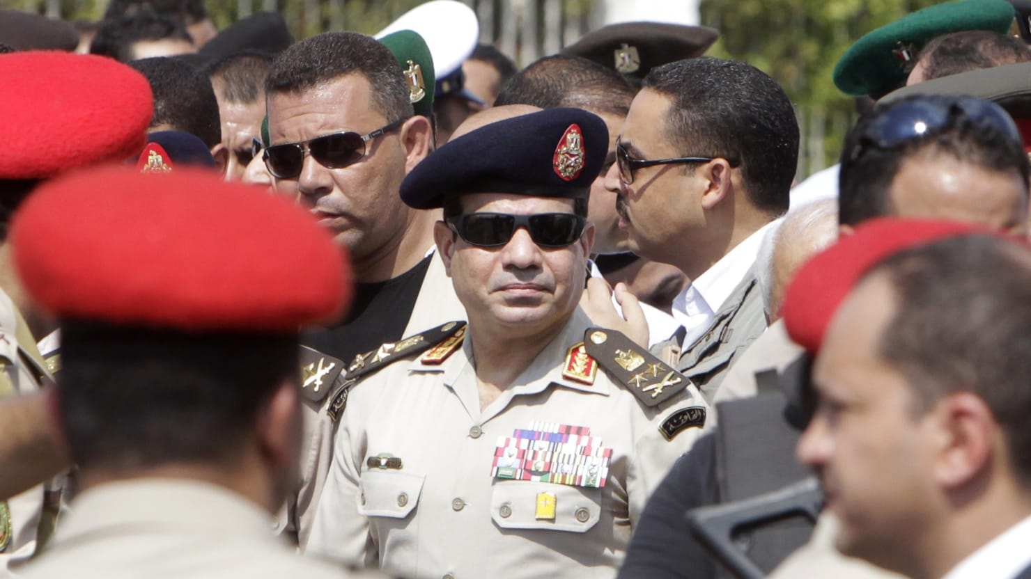 Egypt's General Abdel Fattah El-Sisi Cleared For Presidential Run