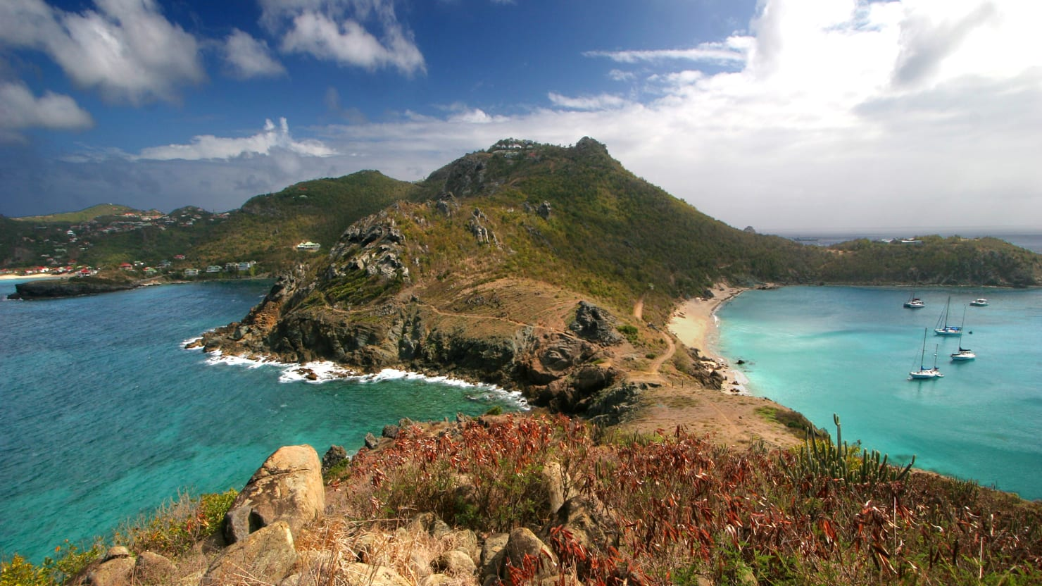 We'd Rather Be in Beautiful—and Warm—St. Barts