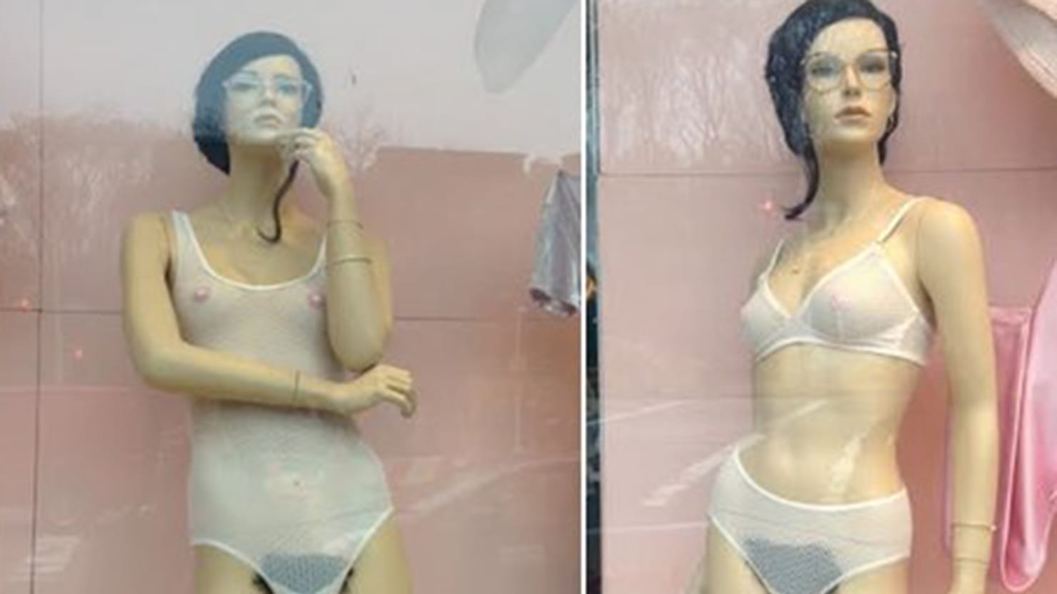 American Apparel Mannequins Now Feature Pubic Hair