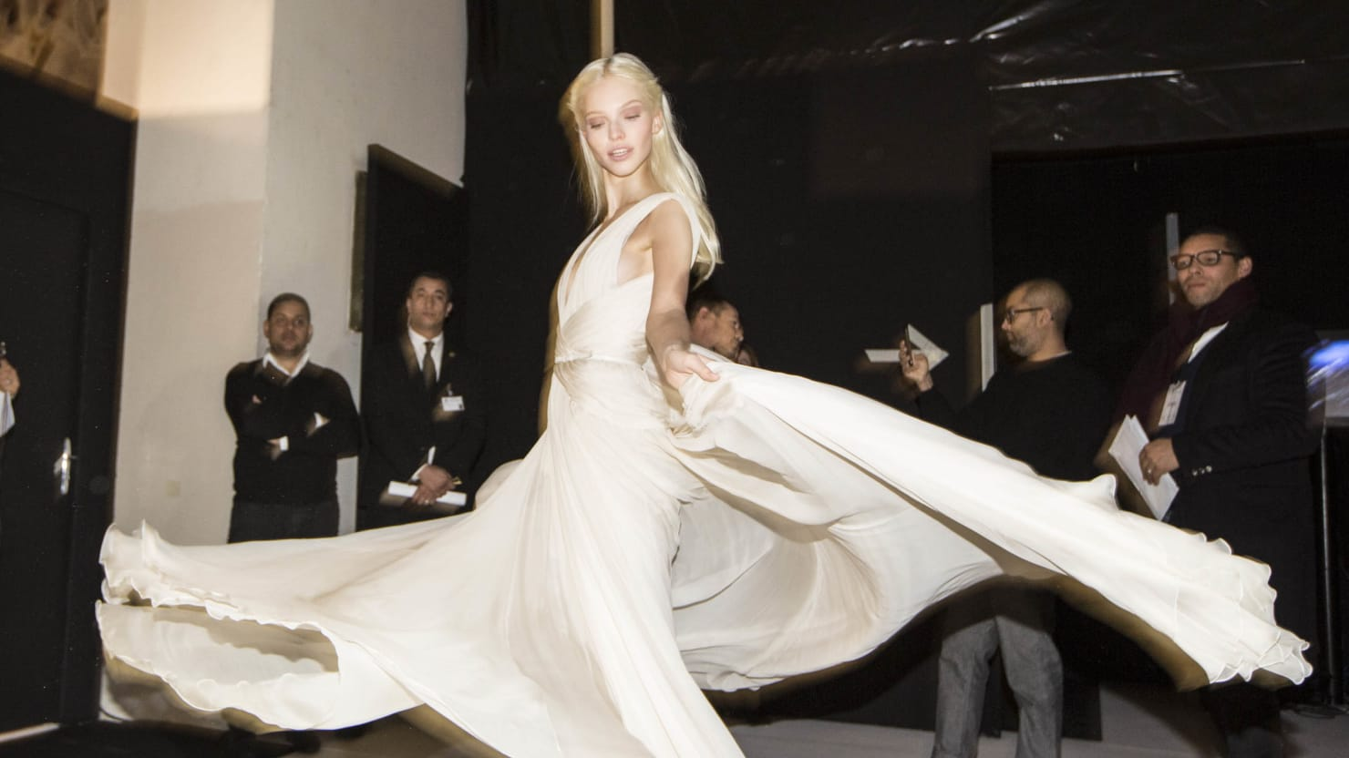 Backstage at Elie Saab Couture (PHOTOS)