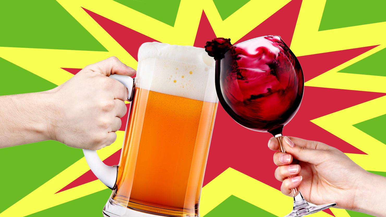 Beer Countries vs. Wine Countries