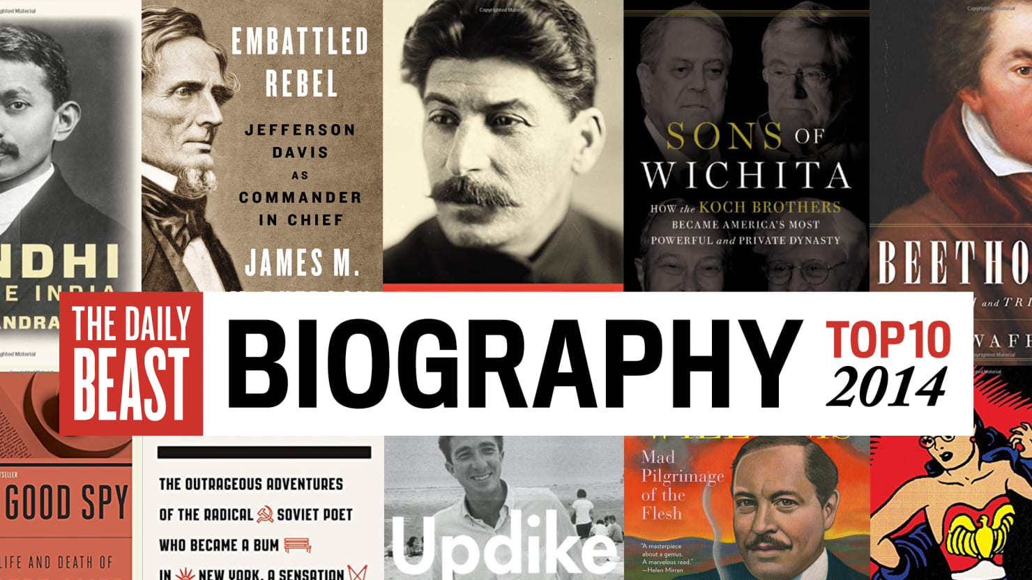 The Best Biographies of 2014, Including Lives of Gandhi, the Koch Brothers, and Jefferson Davis