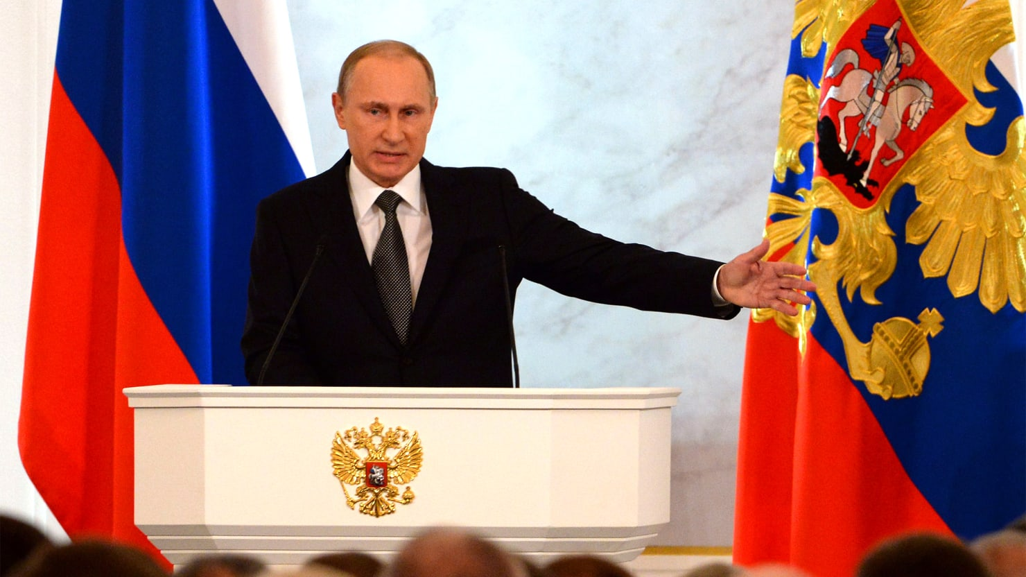 Recession? Devaluation? Inflation? Putin Tells Russia Stay the Course.