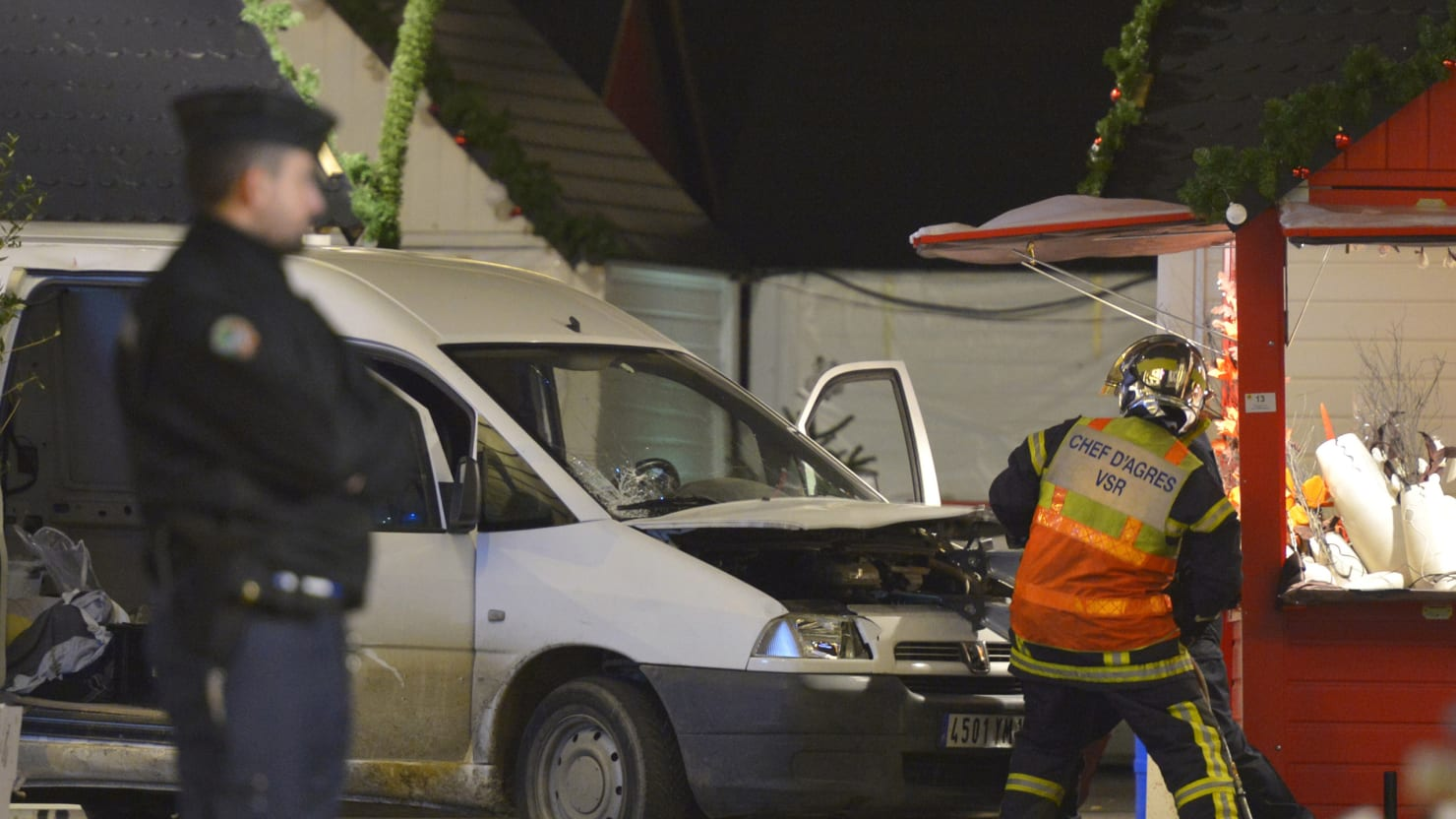 France's Wave of Crazy-Terror Christmas Attacks