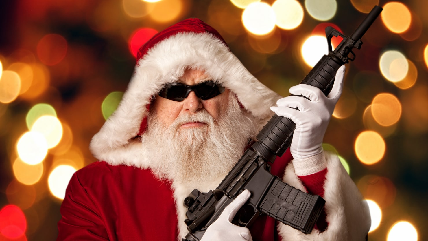 The NRA's Twisted List for Santa