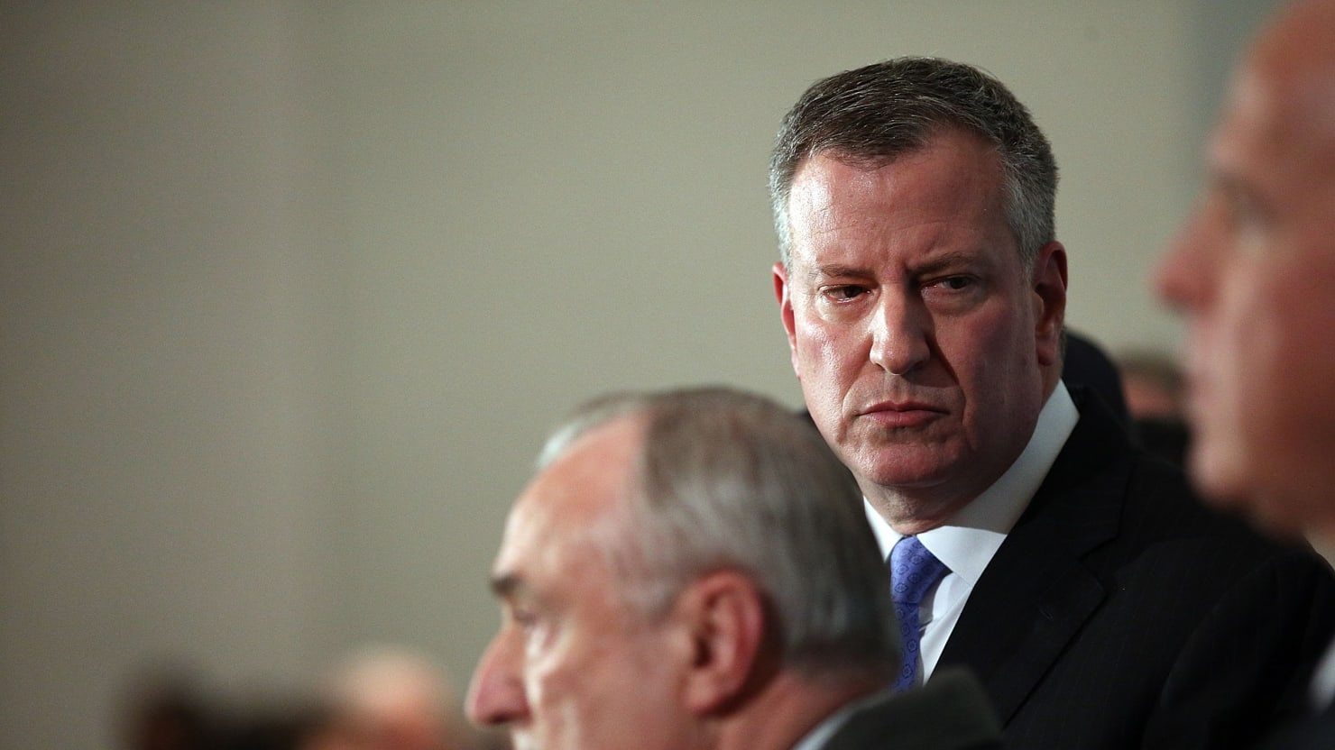 The NY Police Union's Vile War with Mayor De Blasio