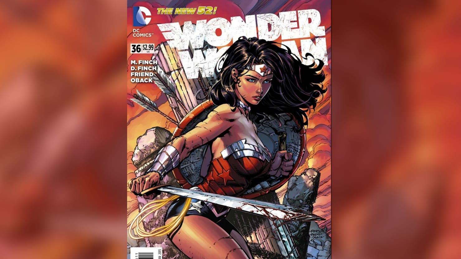 Wonder Woman Takes a Big Step Back