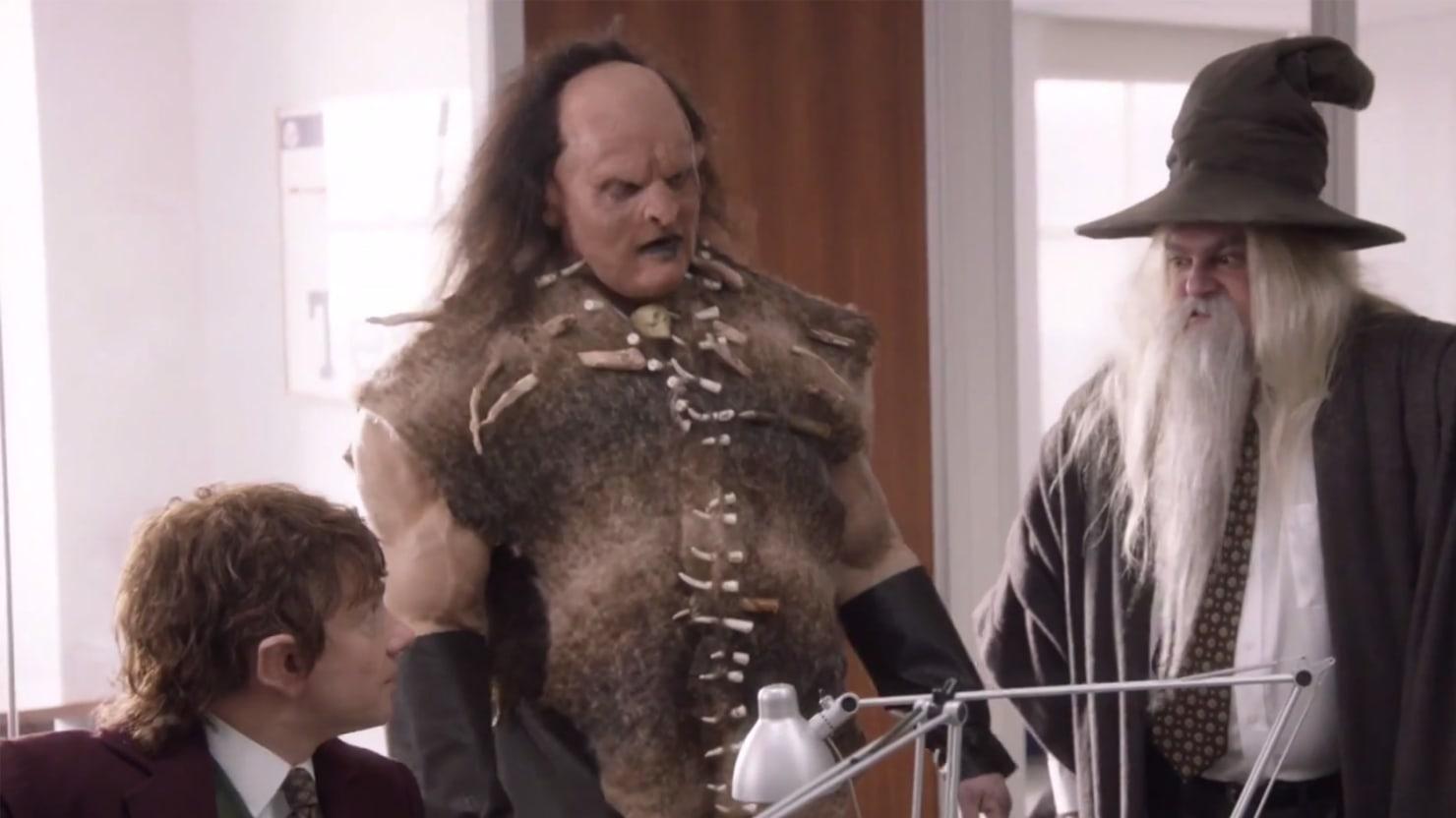 SNL's 'Office/Hobbit' Parody is Perfect