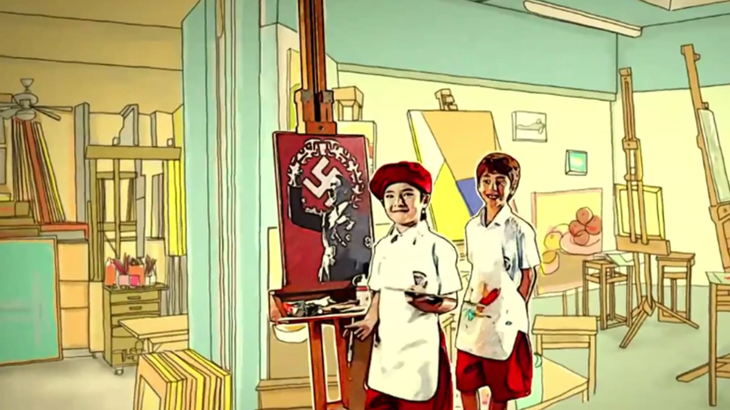 Hitler Fast Food Thailand