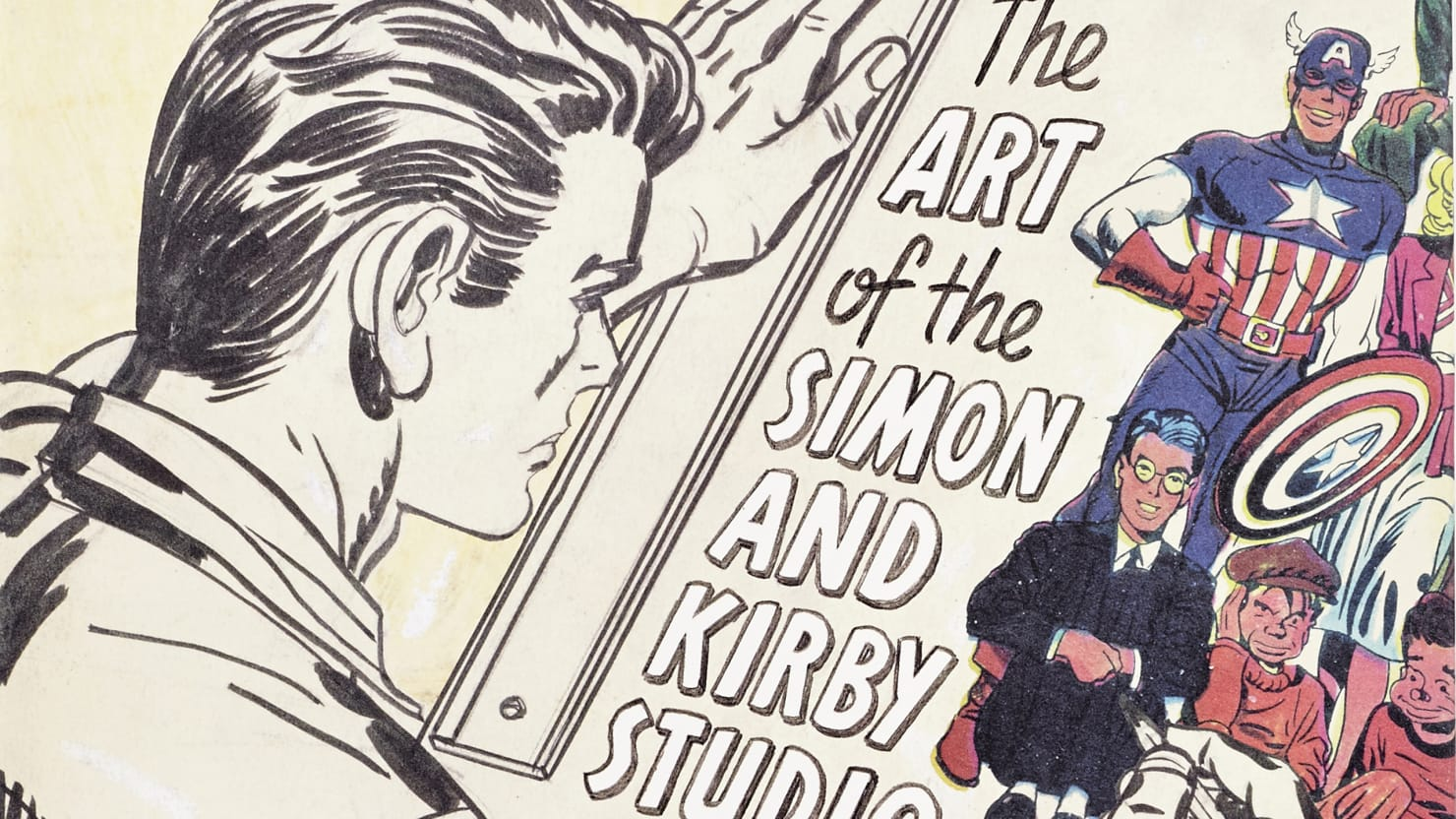 Comic Books' True Origin Story: 'The Art of Joe Simon and Jack Kirby'