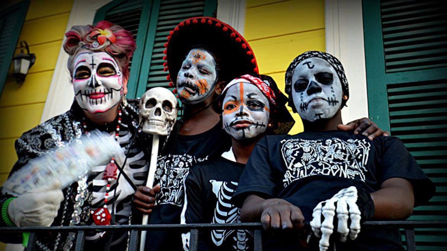 New Orleans Carnivalesque Day Of The Dead