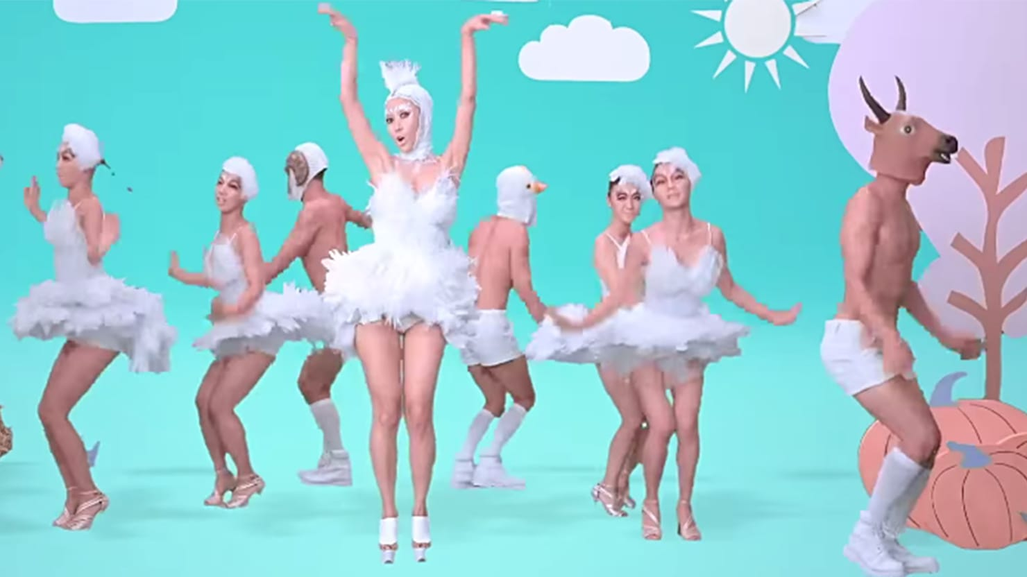 The Most WTF Music Video of the Year: Wang Rong's 'Chick Chick' is 'Gangnam Style' on MDMA