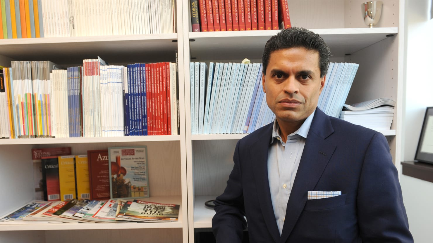 Foreign Affairs Auto >> Can Fareed Zakaria Survive A Plagiarism Firestorm?