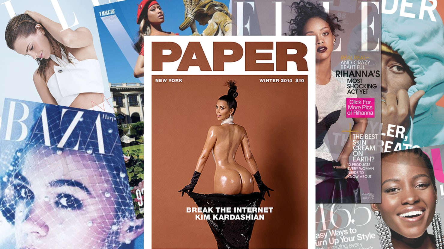10 Magazine Covers You Should Look At Instead of Kim Kardashian's Ass