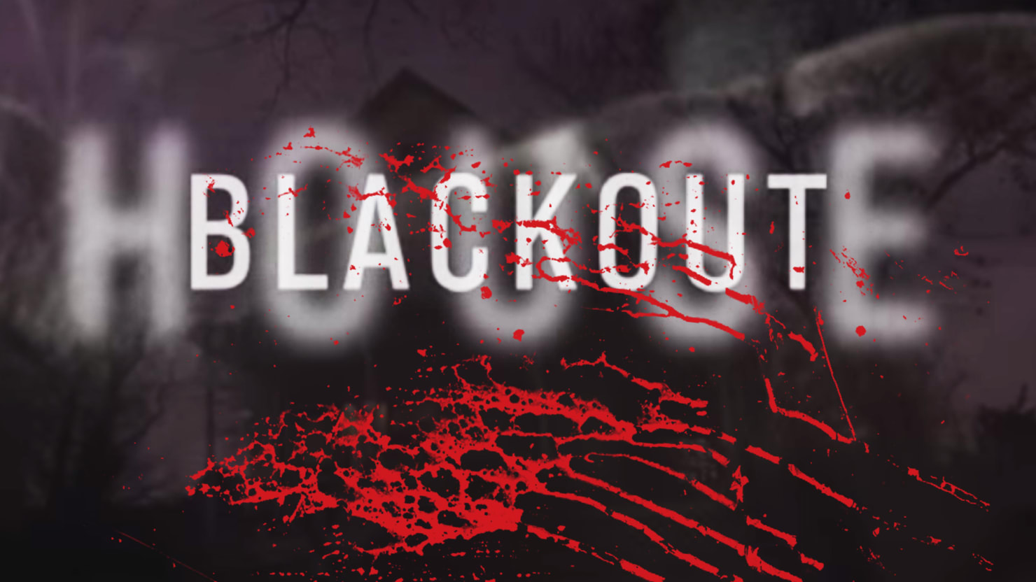 Blackout haunted house sexual harassment