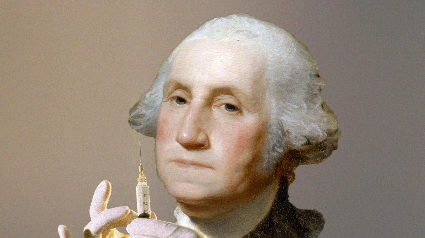 George Washington Slept Here: George Washington, The First Vaxxer