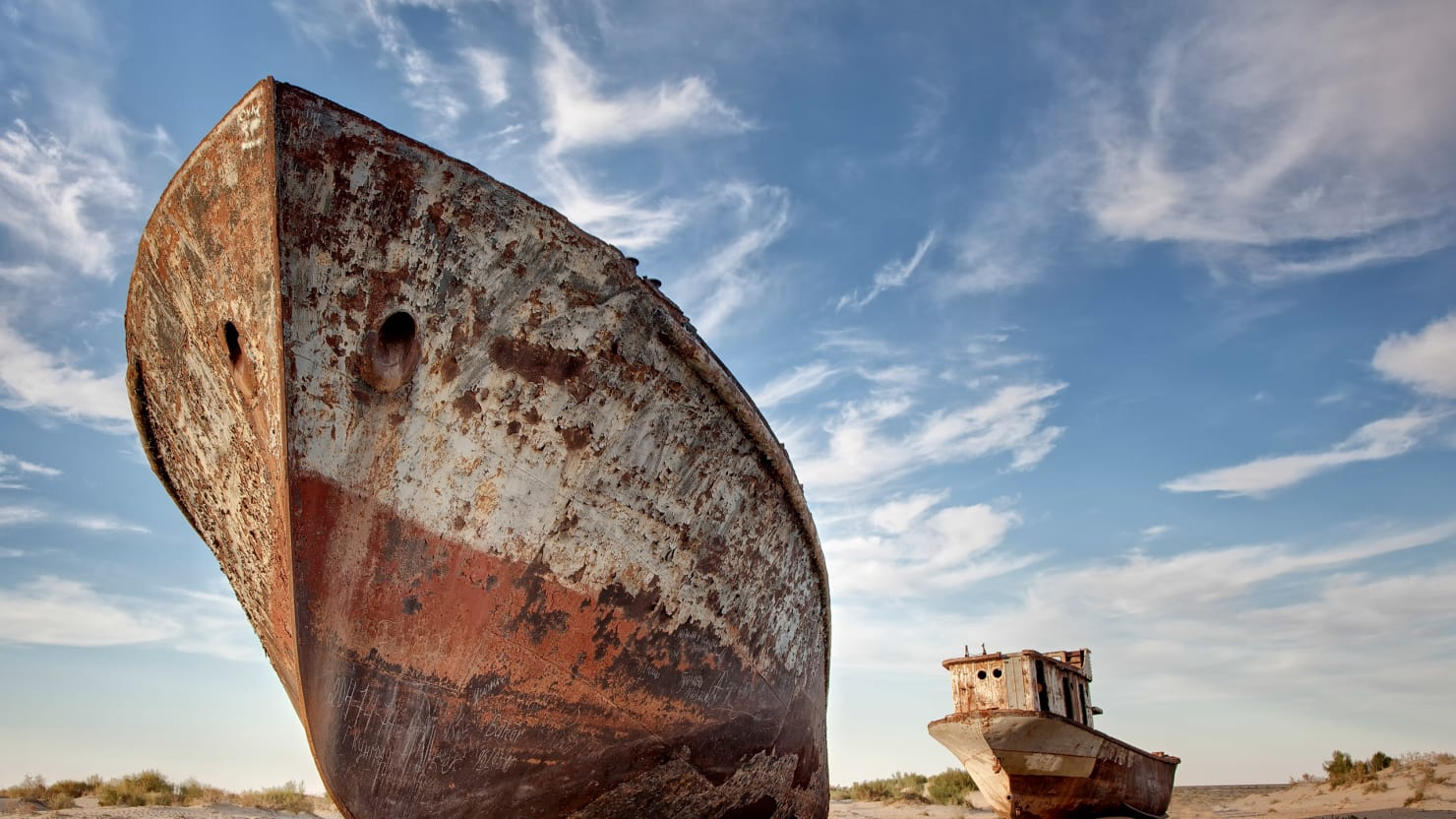 The Aral Sea's Disappearing Act