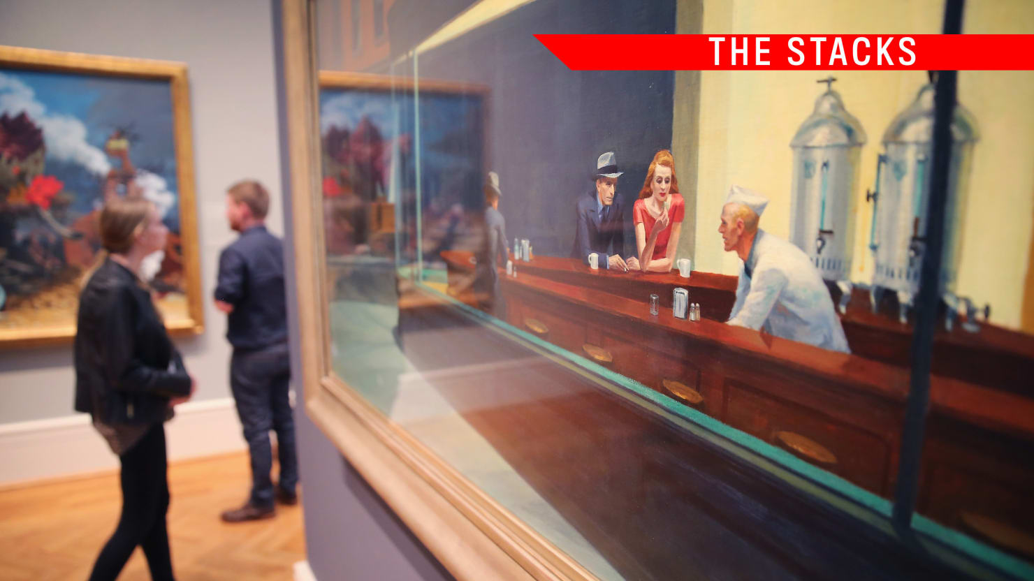 The Stacks: Edward Hopper's X-Ray Vision