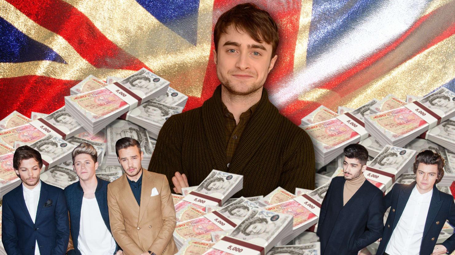 Daniel Radcliffe: I'm Richer Than One Direction