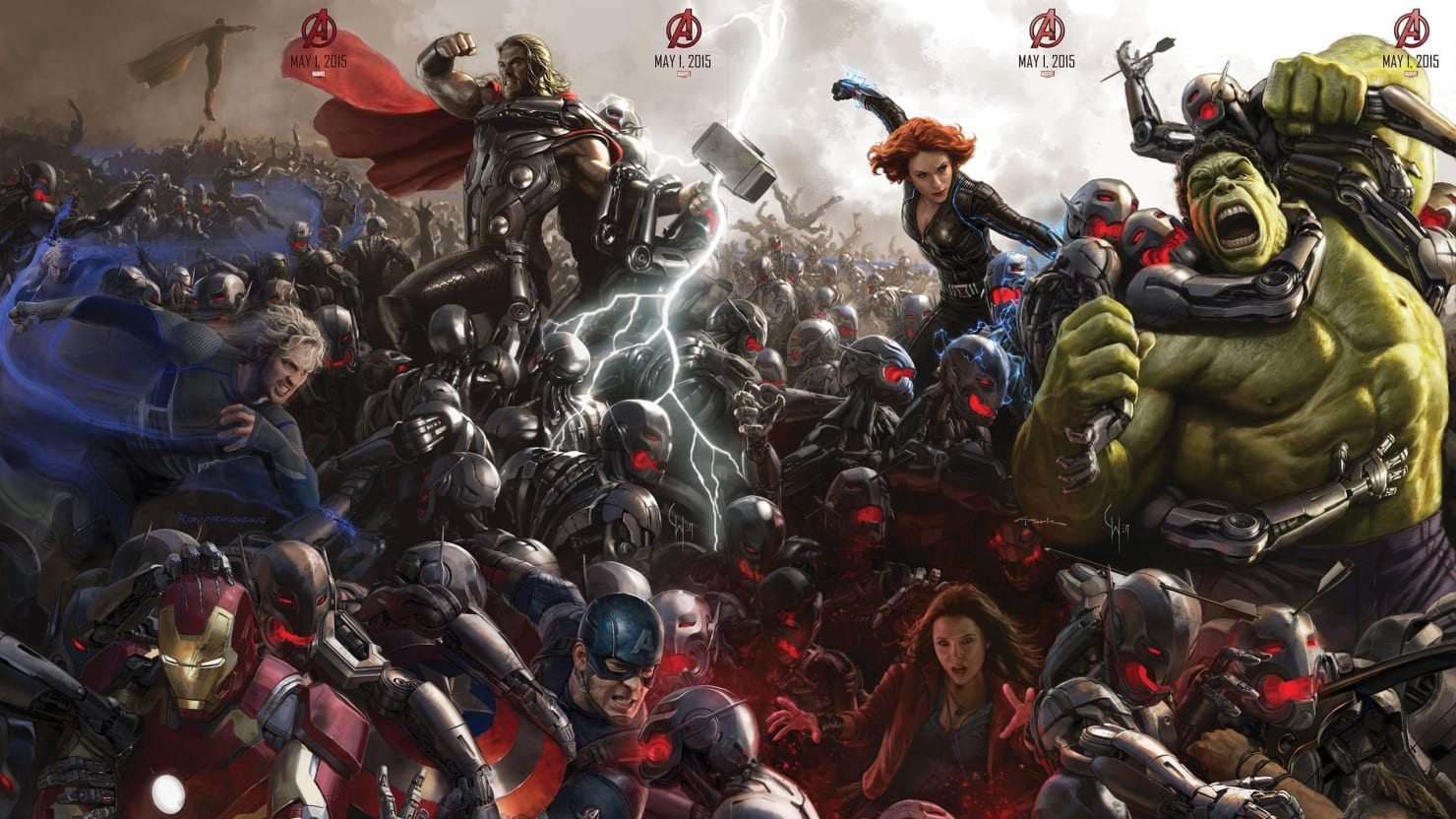 'Avengers: Age of Ultron's' Kickass Trailer Leaks, Features Iron Man's Hulkbuster Armor and Ultron