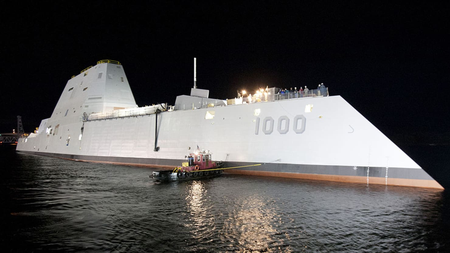Can the Navy's $12 Billion Stealth Destroyer Stay Afloat?