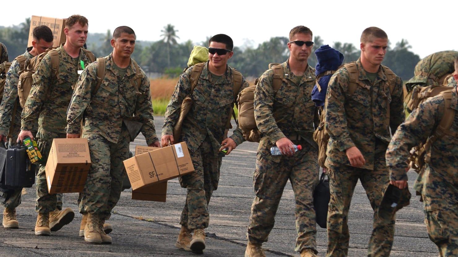 U.S. Soldiers Get Just...