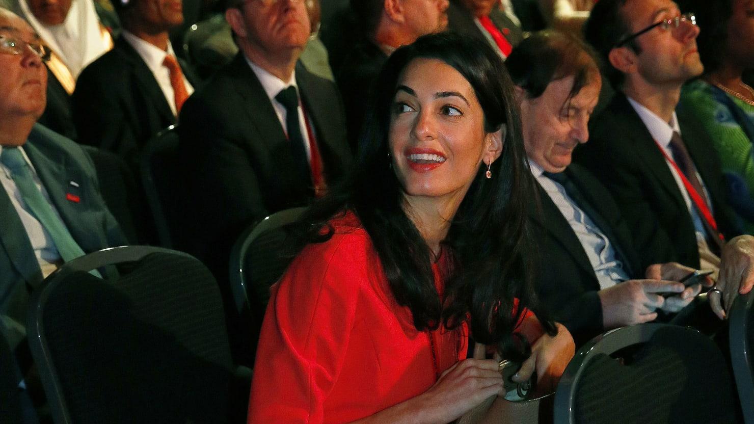 meet amal alamuddin  george clooney u2019s wife