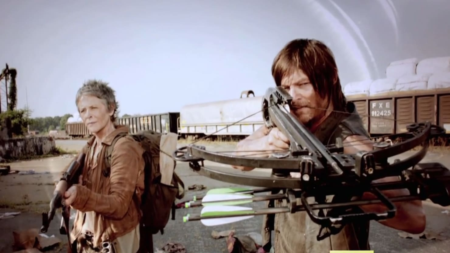 Daryl and Carol Reunite in New Walking Dead Teaser Trailer