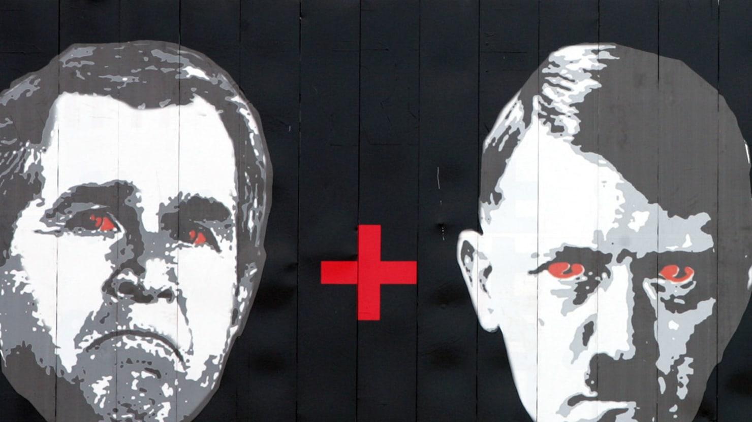 Teacher Gave Bush-Hitler Assignment